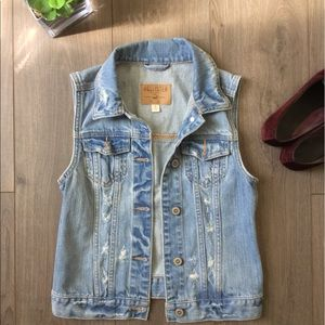 Hollister Denim Vest